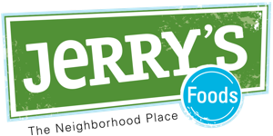 A theme logo of Jerry's Foods